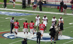 B.J. Scott, along with Romelle Jones, Alex Page and Greg Hollinger serve as Game Captains for South Alabama in the Jaguars game against Troy in the two schools' first meeting and the Jaguars first Sun Belt Conference game.