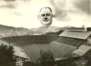 Photo of Neyland Stadium some time in 1962 or 1963 | Photo by Knoxnews.com