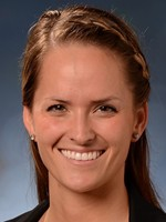 Faith Steinwedell played three seasons at Mississippi State and Cal Baptist and joins the Jaguar coaching staff for the 2014 season. | photo: usajaguars.com