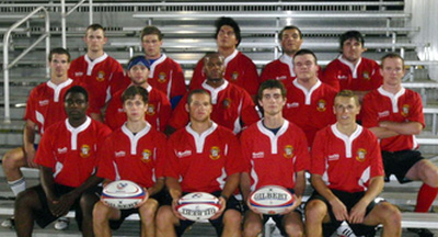 South Alabama Mens Rugby Group Photo