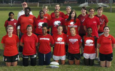 South Alabama Womens Rugby Group Photo